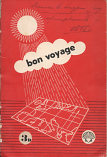 1939 Shell Bon Voyage phrase book with map