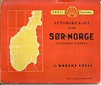 1946 Shell map of South Norway