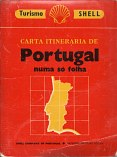 ca1948 Shell map of Portugal