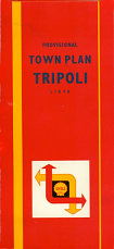 1959 Shell map of Tripoli