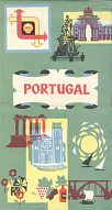 1959 Shell map of Portugal