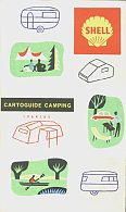 1964 Shell Camping map