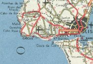 1965 Shell map showing Lisbon