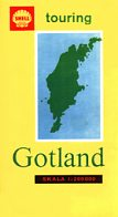 1965 Shell map of Gotland