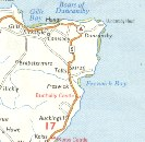 1969 Shell map showing Duncasby Head