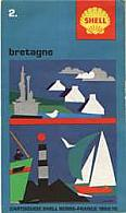 1969-70 Shell cartoguide 2 of Bretagne (Brittany)