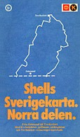 1971 Shell/Koppartrans map of Northern Sweden