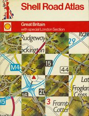 1975 Shell Road Atlas of Britain
