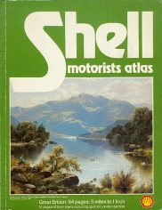 1981 paperback Shell atlas of Britain