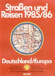 1985-6 Shell A4 atlas of Germany