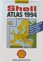 1994 Shell atlas of Europe and Poland