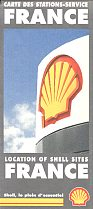 1995 Shell map of France