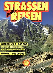1996 Shell atlas of Austria