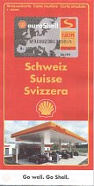 1997 Shell map of Switzerland