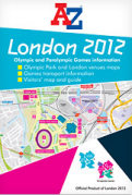 Sample A-Z London 2012 map