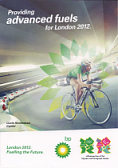 BP Flyer promoting advanced fuels for London 2012