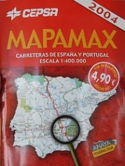 2004 Cepsa atlas of Spain