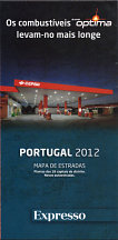 2012 Cepsa map of Portugal