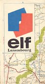 ca1970 Elf map of Luxembourg