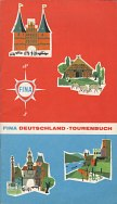 1961 Fina Touring booklet of German scenic trips