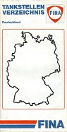 1991 Fina map of Germany