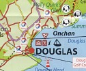 Douglas from the 2011/12 All-Round Map of the Isle of Man