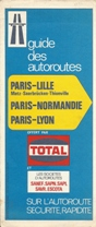 1972 Total Autoroute booklet